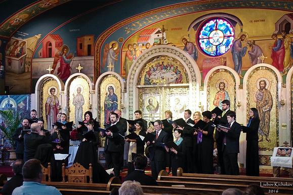 St. Romanos Choir sings The Divine Liturgy on Saturday of Souls