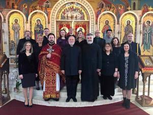 St. Romanos Choir sang The Divine Liturgy on Saturday of Souls