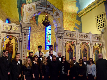 St. Romanos Cappella performs A Concert of Gratitude and Hope