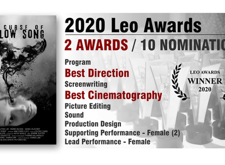Winner of 2 Leo Awards