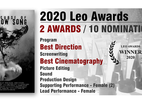Winner of 2 Leo Awards