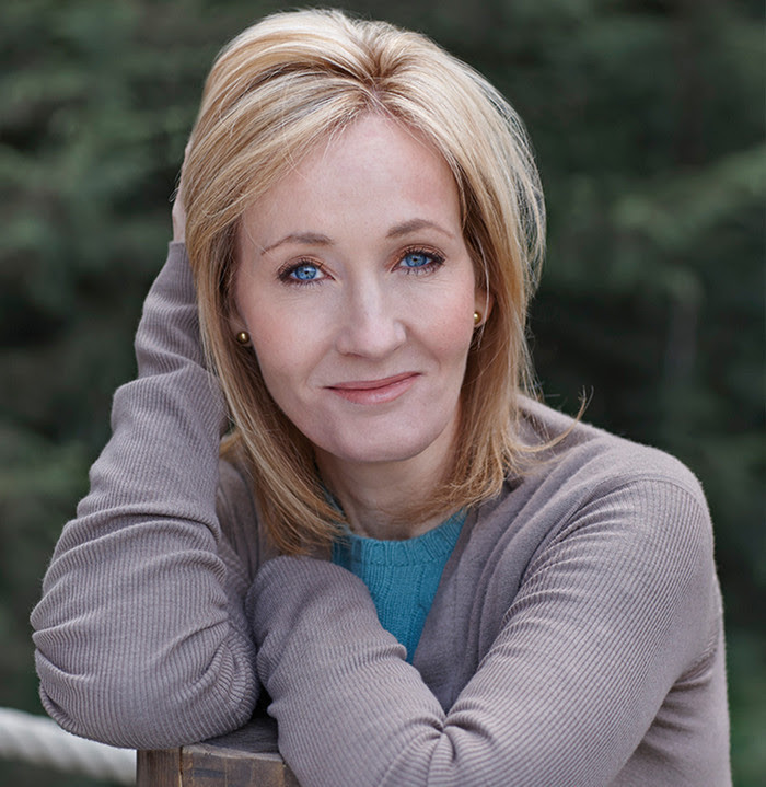 J.K Rowling photo in article about women in literature