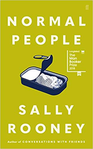 Normal People by Sally Rooney book cover