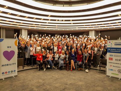 Women in Mobility Summit Gruppenfoto