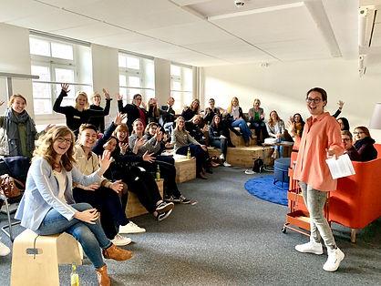 #MoveUp des Women In Mobility Hubs Hamburg in den agilen Räumen der HOCHBAHN