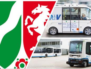Mobilitätstrend automatisiertes Fahren: Sieben Beispiele aus NRW