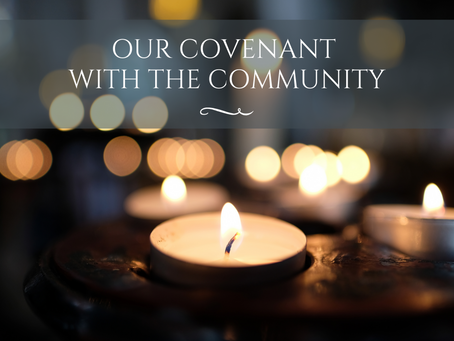 Our Covenant with the Community