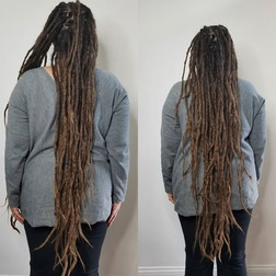 Julie has been a dreadlock client for amost 4 years..it has been such an incredible journe