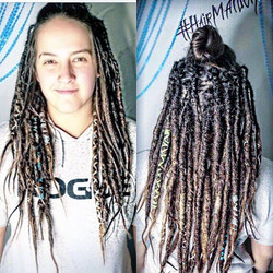Hair Maiden is stoked and honored to be the official dreadlock stylist for Sarah Logan. Th