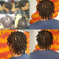 twist out dreadlocks by Jamie _hair.maiden _officialprince84 for an appointment call 407.3