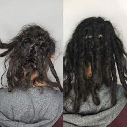 Maintance on dreadlocks can be a game changer.. Brett has had his dreadlocks for almost a