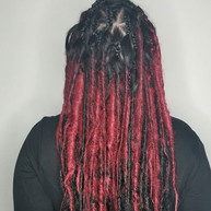 Sythetic dreadlocks are a great way to ease into dreadlocks! it is such an honor to do wha
