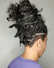 I think sythetic dreadlocks are a great way to get comfortable with the commitment of perm