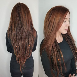This beauty trusted me with her dreadlocks and color...jpg