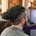 A nice clean cut to go along with these dreads by _jamestheimpaler5666 & _dee_hairmaiden