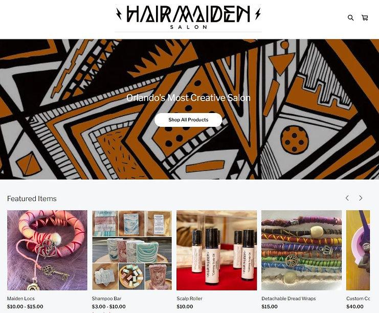 Hair Maiden Shop