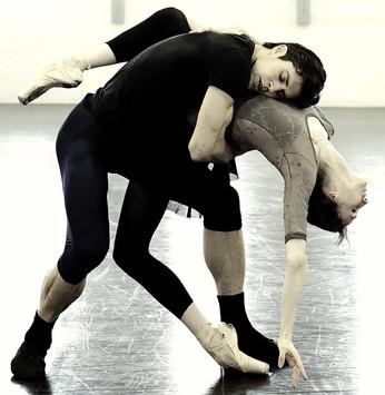 """Светлана Захарова и Роберто Болле в новом балете """"Проект Генделя"""""""