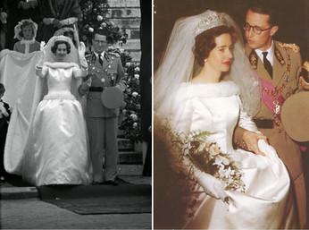 Свадебные платья королев