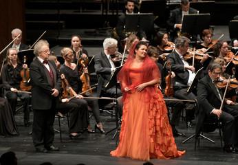 Концертная премьера с Анной Нетребко