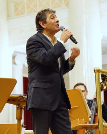 Placido Domingo Junior's first concert in Russia
