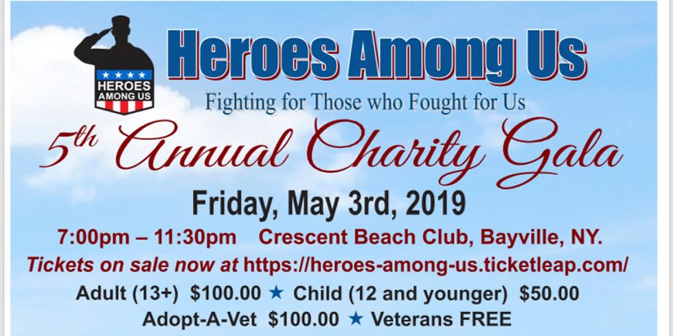 Heroes Among Us 5th Annual Charity Gala