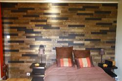 Mur de la tête de lit