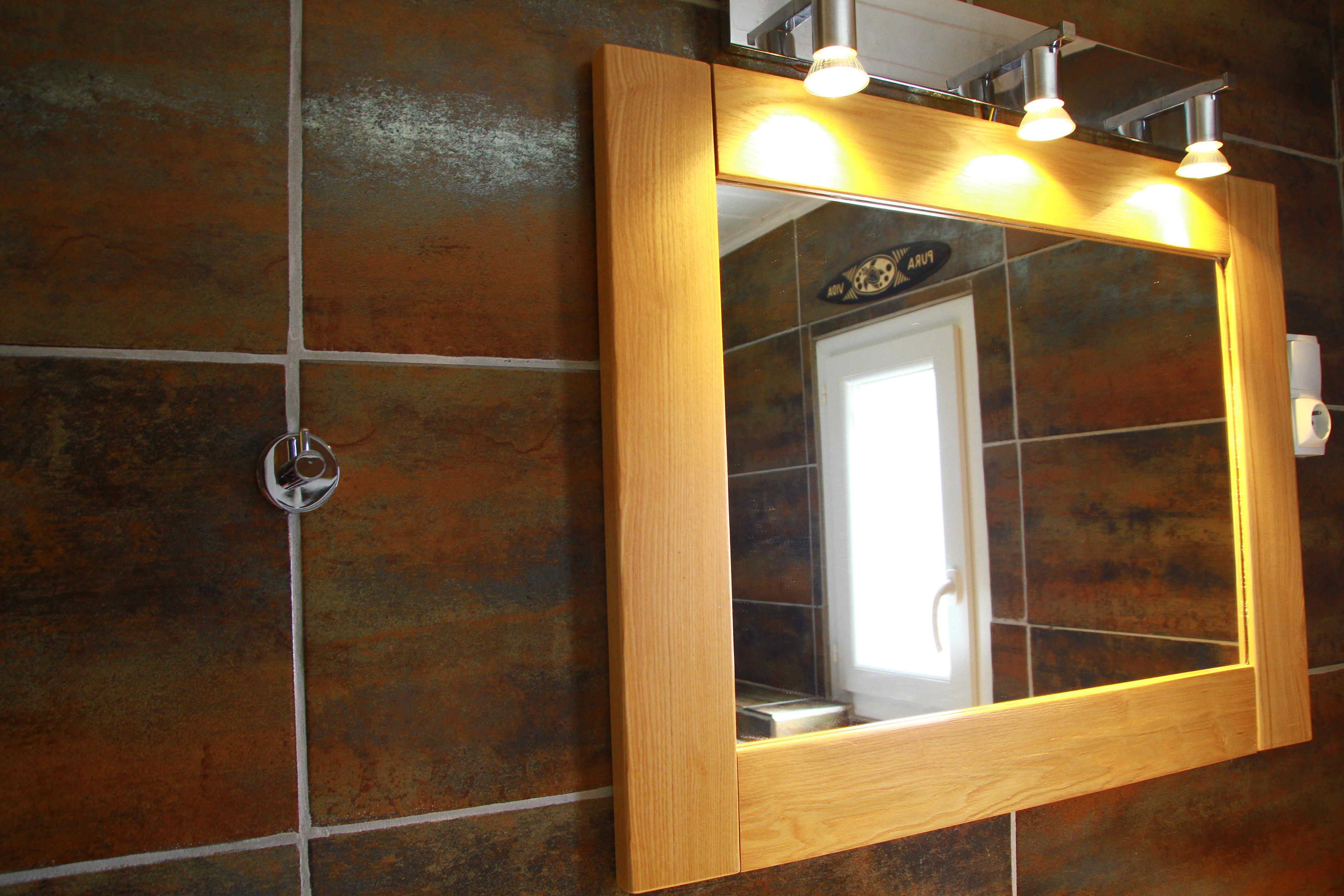 Miroir de la salle d'eau