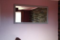 "Miroir de la chambre ""Violetta"""