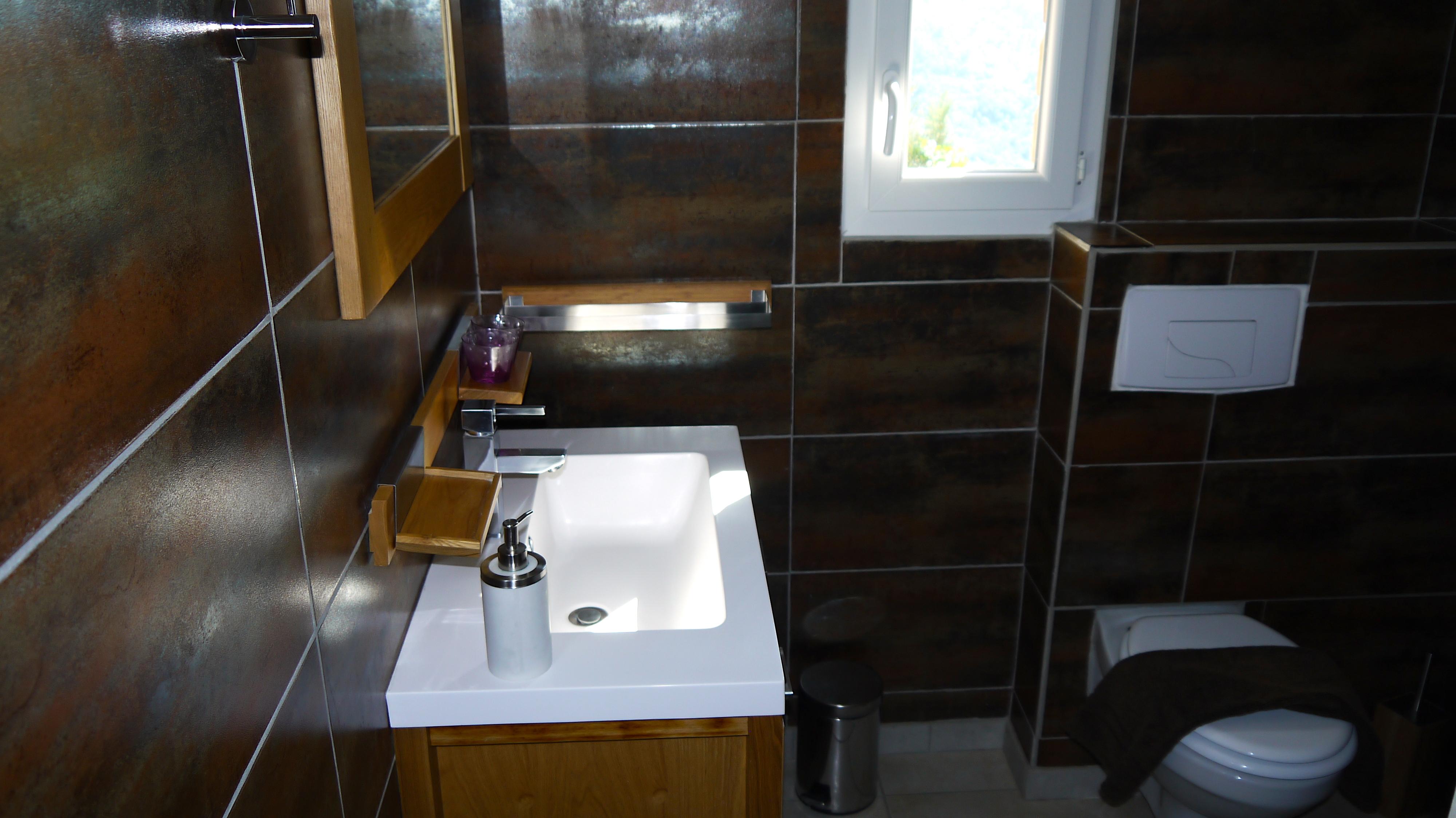 Salle d'eau et toilette