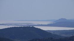 Vue sur la baie de Nice...