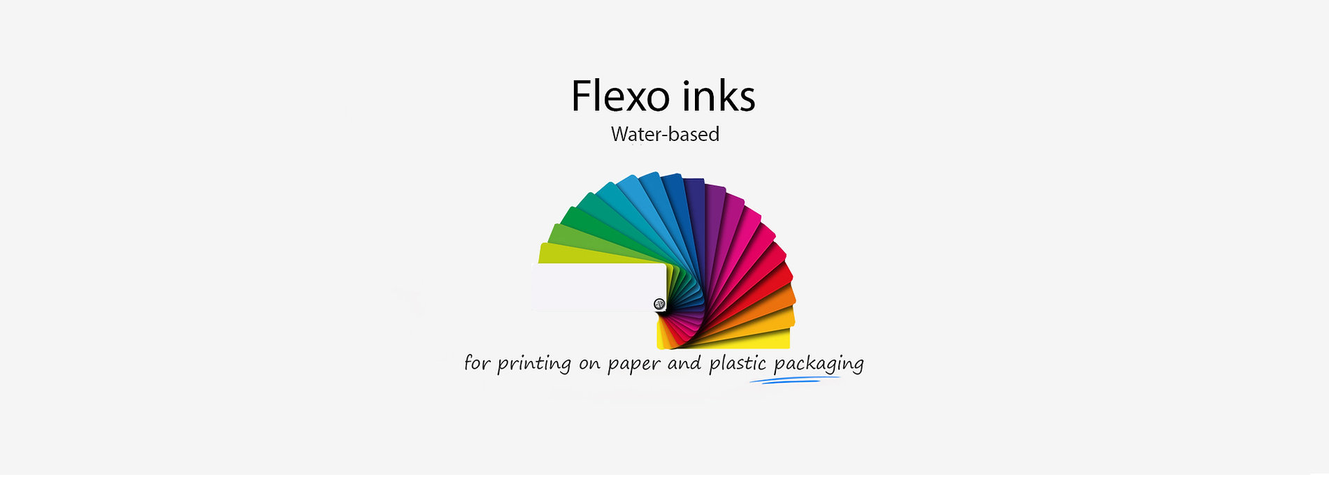 Flexo inks on water-based