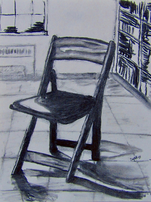 Chair, charcoal