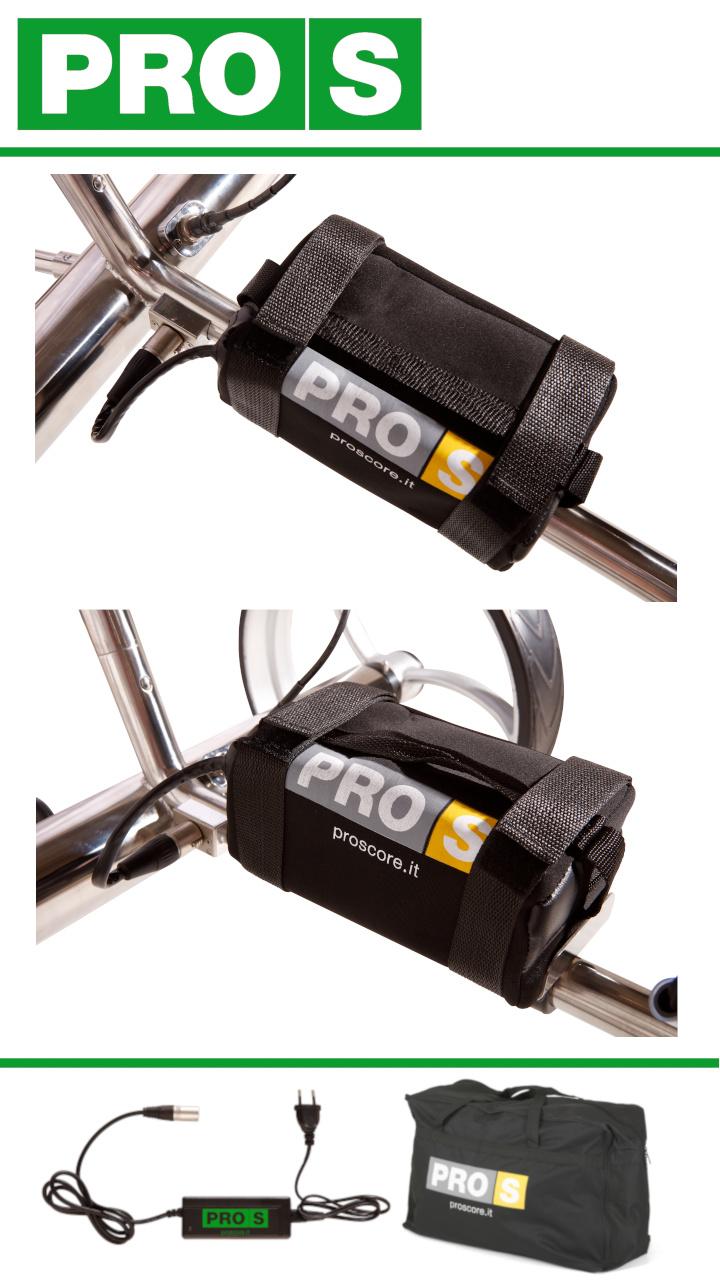 Easy Inox con Telecomando Batteria