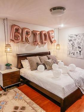 Bride Room Decorations