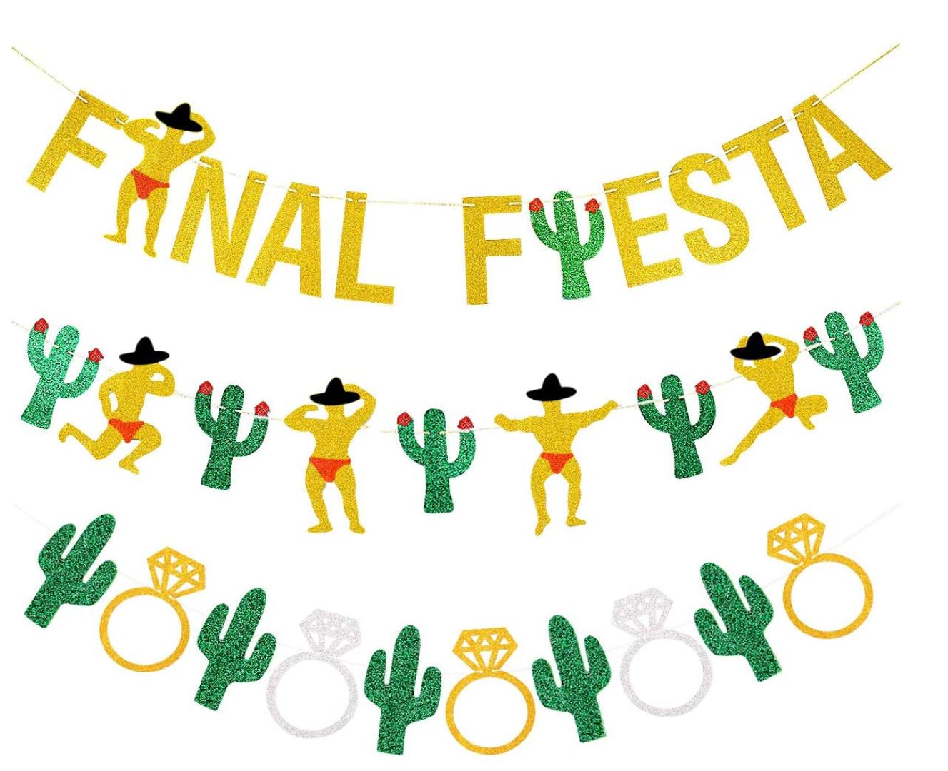 Final Fiesta Paper Banners