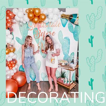 Scottsdale Bachelorette Decorating