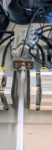 Barbless clamp and press