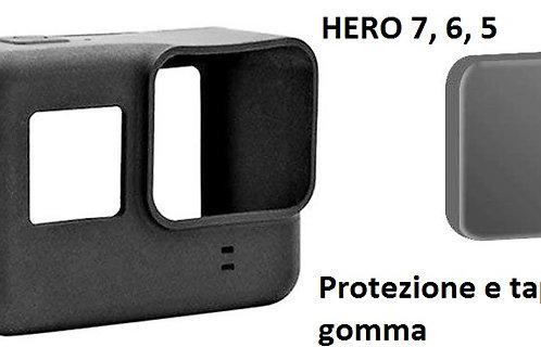 Custodia x Gopro in gomma Hero 7, 6, 5