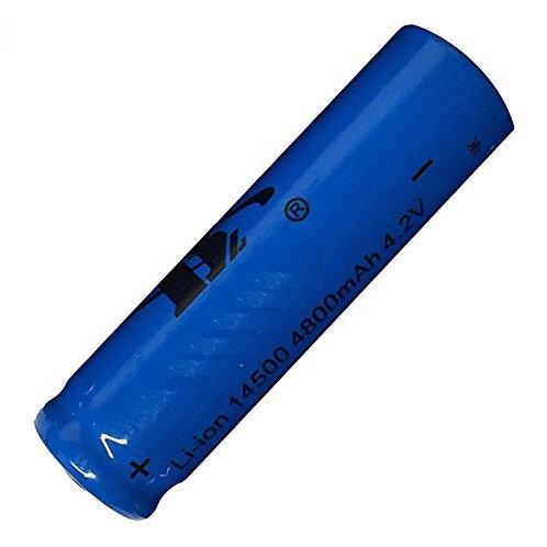 Batteria Ricaricabile 14500 (AA) da 4800mAh Li-ion 4.2V / 3.7V