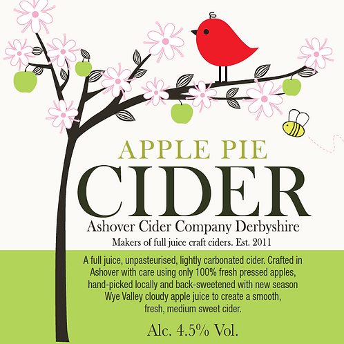 Apple Pie Cider 500ml Bottles (case of 12)