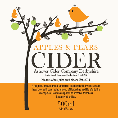 Apples & Pears 500ml Bottles (case of 12)