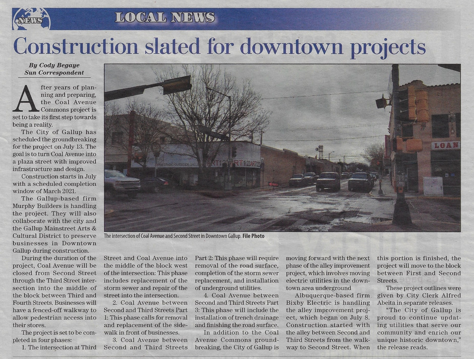 Coal Avenue Commons takes steps to become a reality