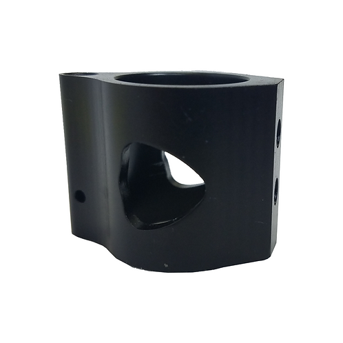 "GAS BLOCK ASSEMBLY, LOW PROFILE, ADJUSTABLE, .750"" DIA, BLACK NITRIDED"