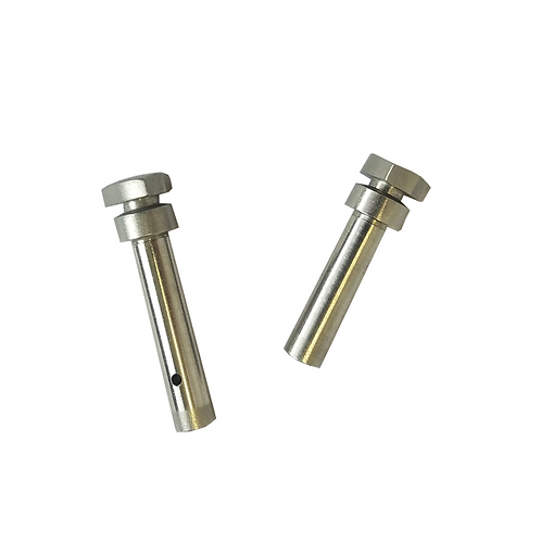 PIVOT PIN & TAKEDOWN PIN SET, SHIELD HEAD, 17-4PH BLASTED SATIN FINISH
