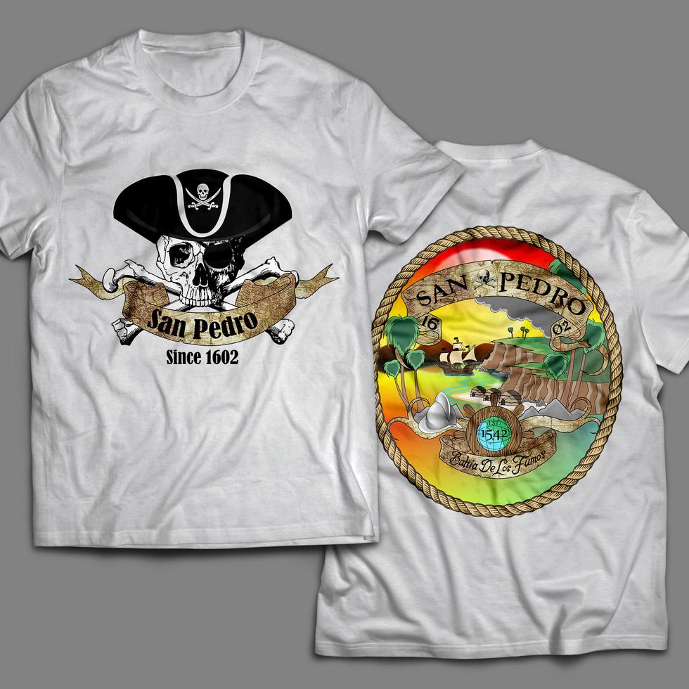 Bahia De Los Fumos San Pedro T-Shirt