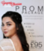 Prom Package available in gorgeous obsession stratford-upon-avon