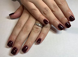 SNS nails Gorgeous Obsession