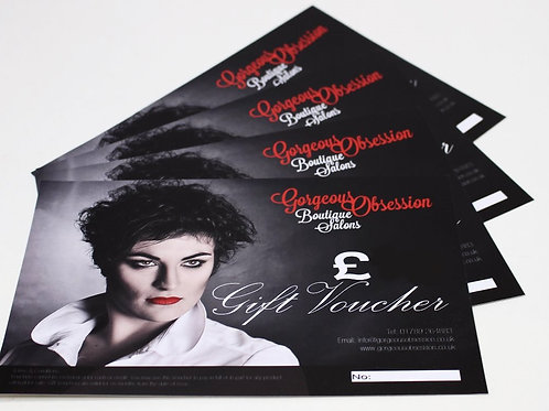 Gorgeous Obsession Gift Voucher