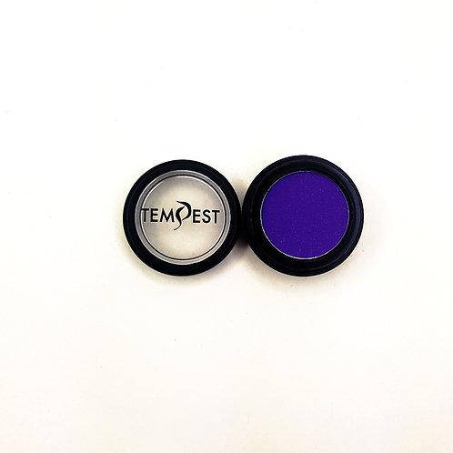 Polarizing purple eye shadow