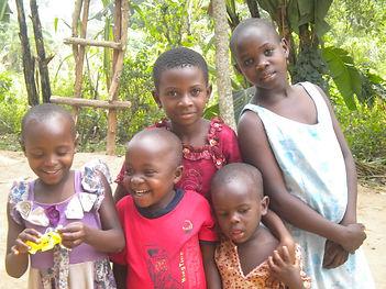 Precious Children at Church Holy Mountai
